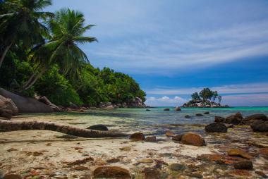 Anse Royale na seychelské ostrově Mahé