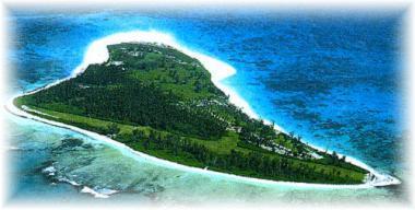 Seychelský ostrov Bird Island