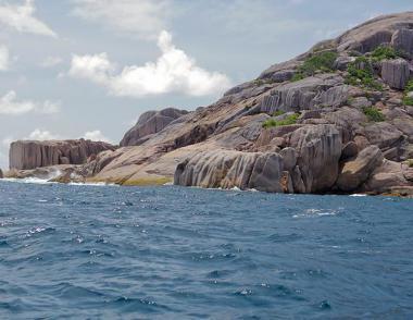 Seychelly - část ostrova Petite Souer