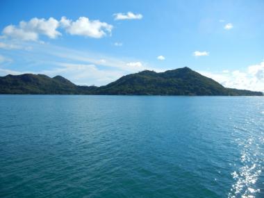 Seychelský ostrov Praslin