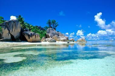 Pláž, Seychely
