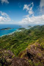Část seychelského ostrova Mahé
