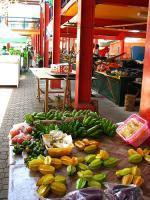 Trh na ostrově Mahé