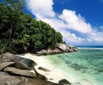 Seychelly - část ostrova Moyenne